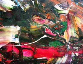 New Abstract Expressionism by Estelle Asmodelle