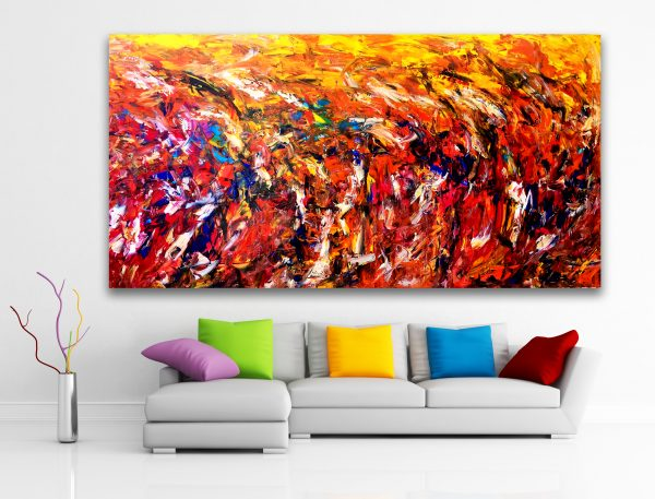 Social Conscious Movement - Abstract Expressionism by Estelle Asmodelle