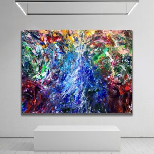 The Pathway - Abstract Expressionism by Estelle Asmodelle