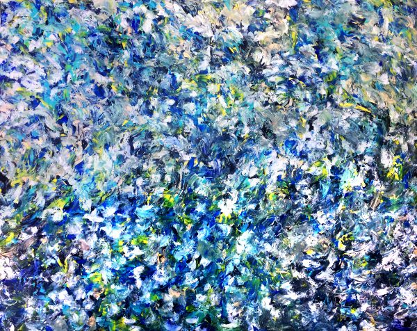Number 70 - Abstract Expressionism by Estelle Asmodelle